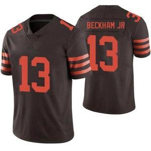 OBJ Beckham Jr Vapor Untouchable Brown Jerseys